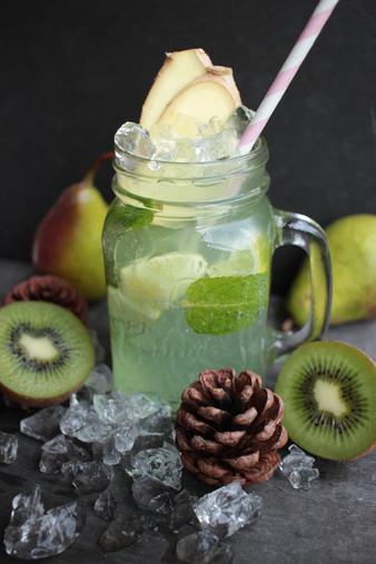 Birnen-Kiwi Squash
