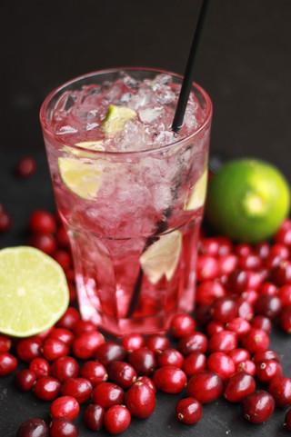 Cranberry-Lime Squash