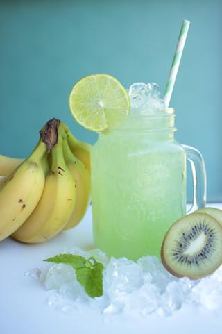 Kiwi-Bananen Squash