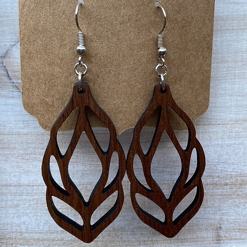 Willow Leaves Earrings - Large