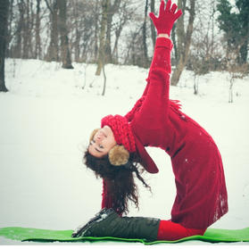 """Yoga for """"Wintering"""" Series"""