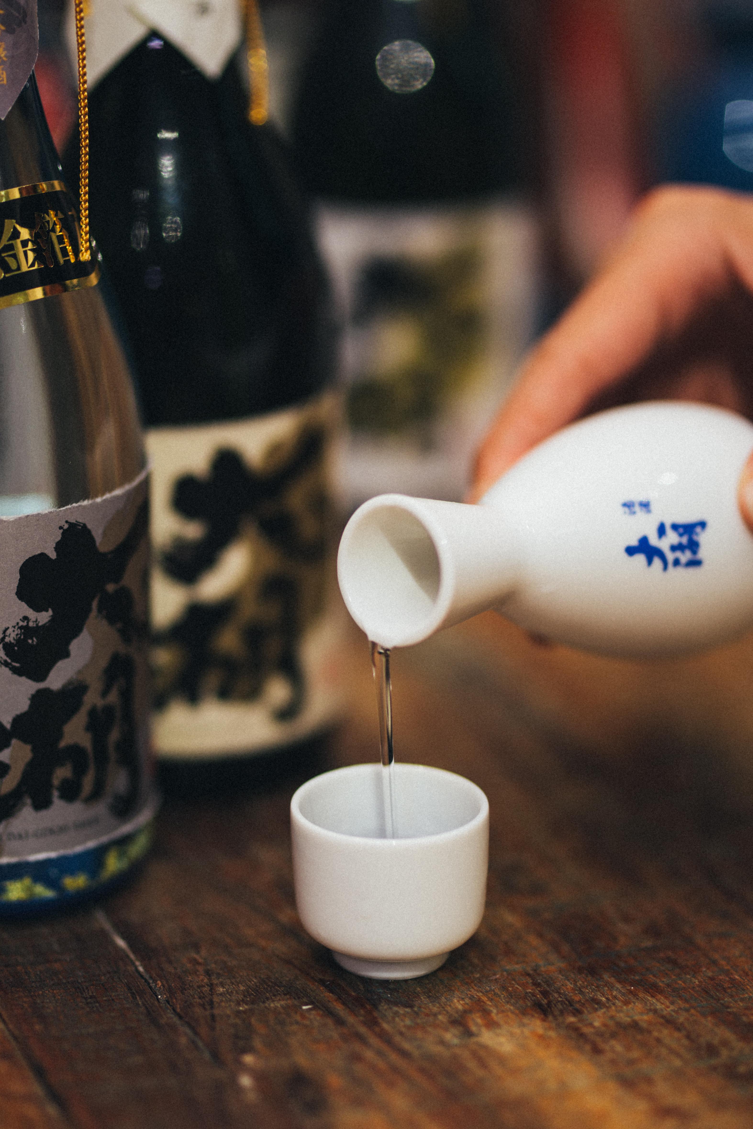 Taiko Sake Tasting