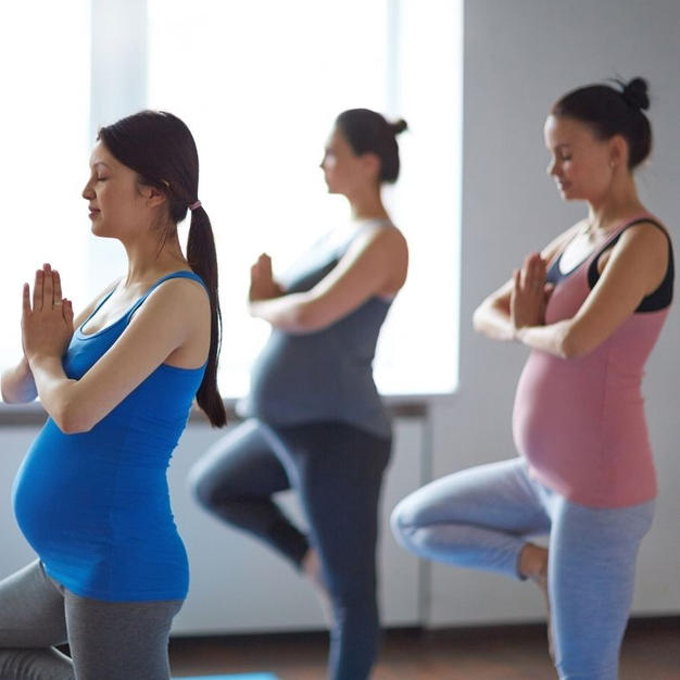 Shanti Mom Prenatal Yoga Series
