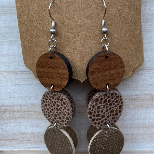 Mandala Teardrop Earrings
