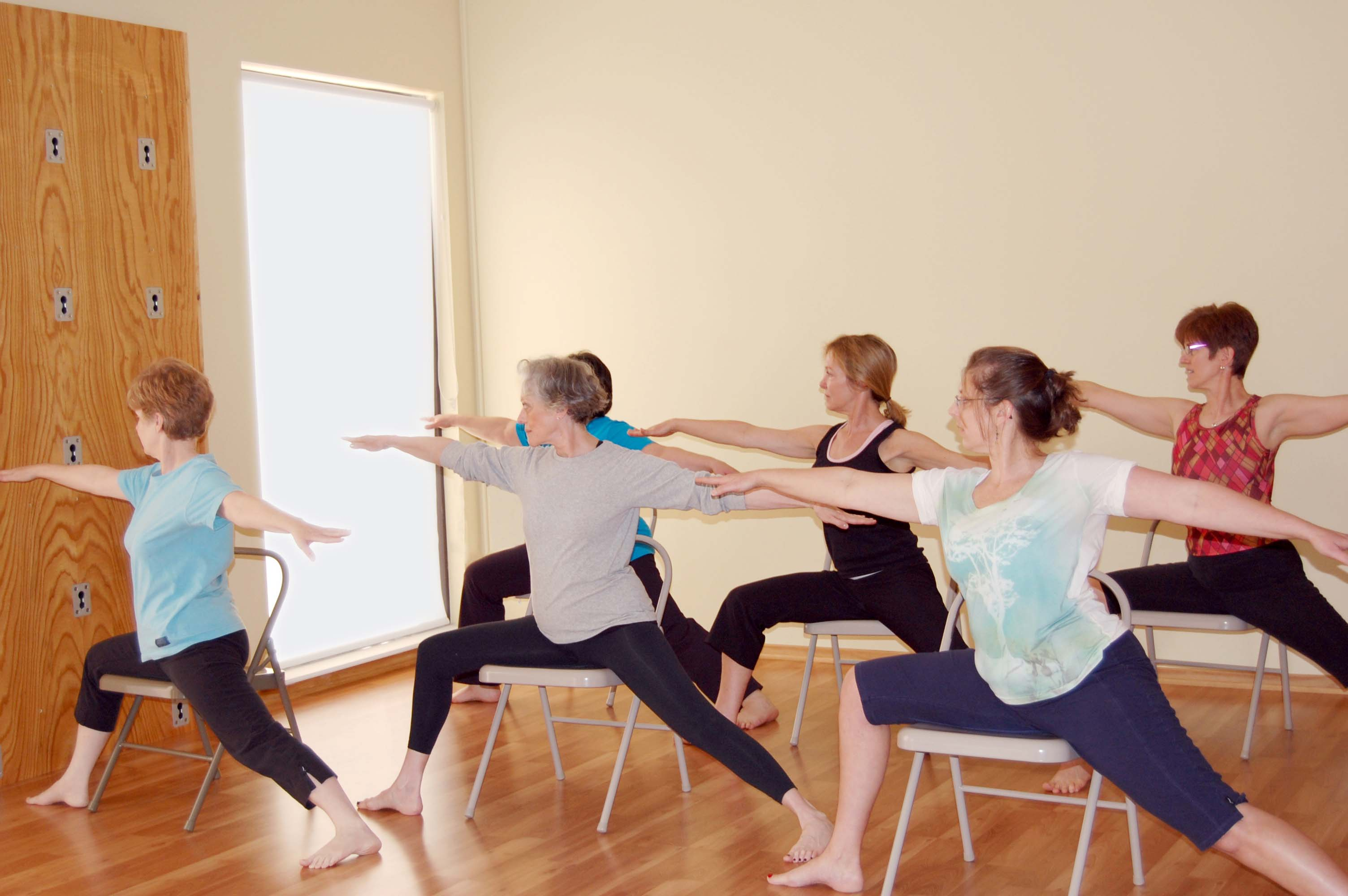 Ageless Balance and Chair Yoga