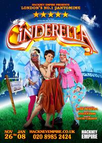 Cinderella the Pantomime, Hackney Empire
