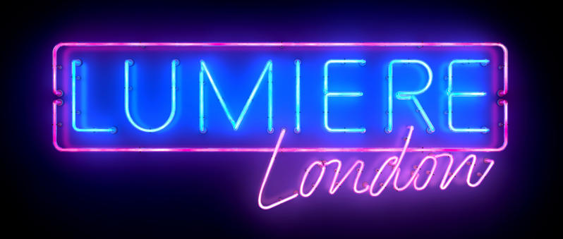 3D render of the Lumiere logo, created in Cinema 4D