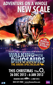 Walking with Dinosaurs live experience