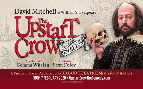 Upstart Crow with David Mitchell