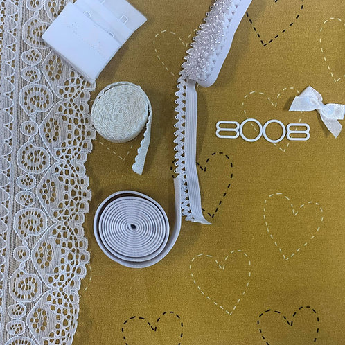 Stitches of Love Mustard - Bralette Kit