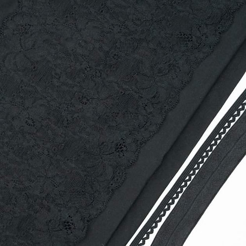 Midnight Cotton Undies Kit