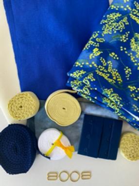 Wattle with Lemon Bra & Undies Kit