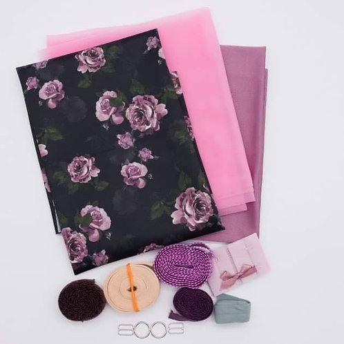 Dusty Rose Bra Making Kit