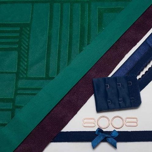 Emerald Bazaar Bra Kit