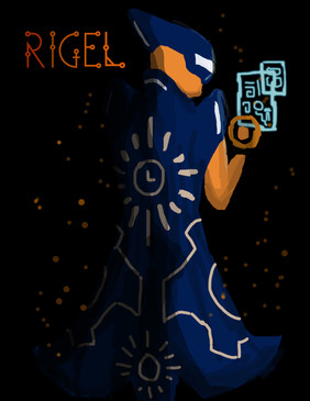Astral Portrait: Rigel