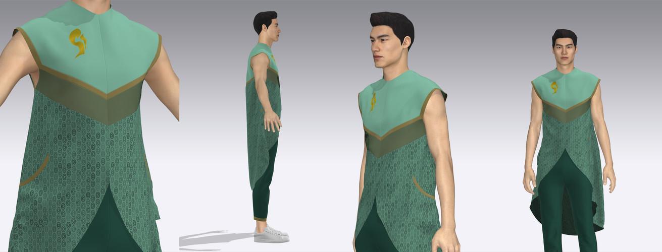 Komorebi Garment Details
