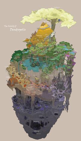 Bumble Heart: Dendropolis