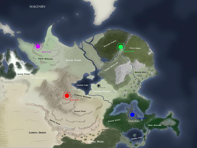 Makenirv Map (Draft)