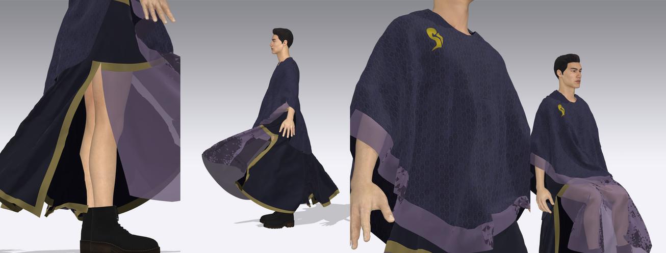 Penumbra Garment Details