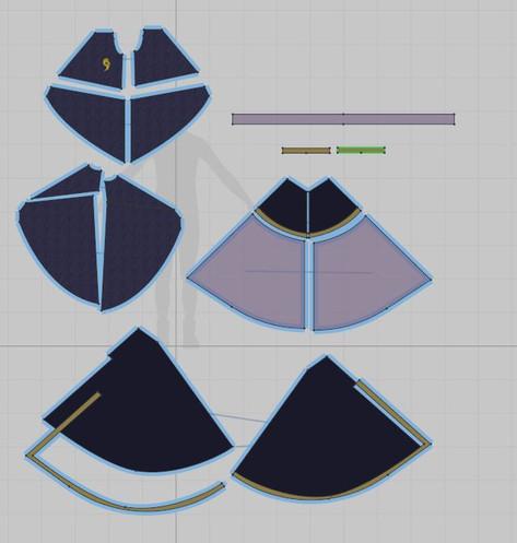 Penumbra 2D Patternmaking