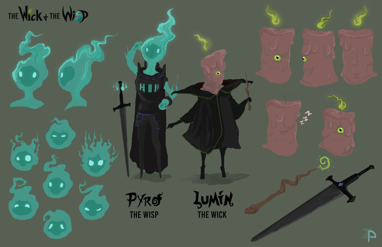 The Wick & The Wisp Character Sheet