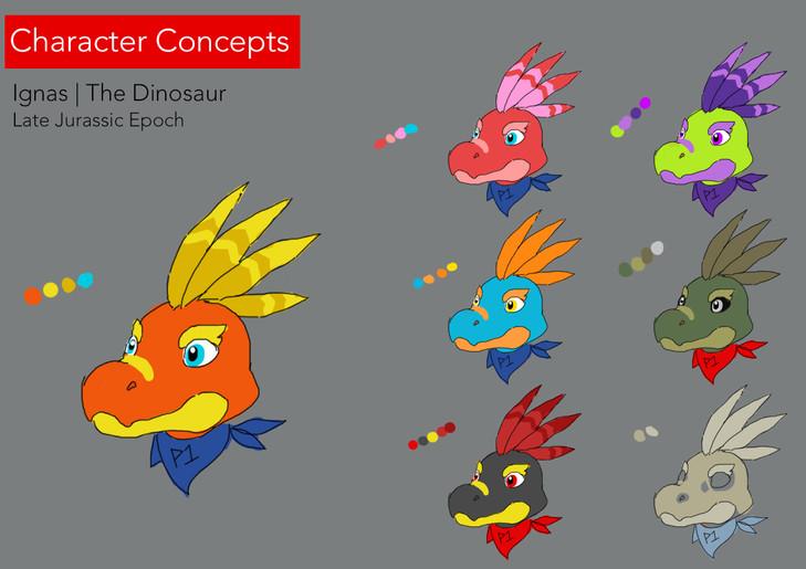 01 Dinosaur Styles
