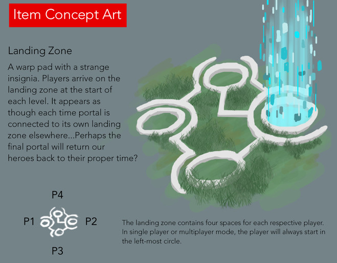Landing Zone Concept Art
