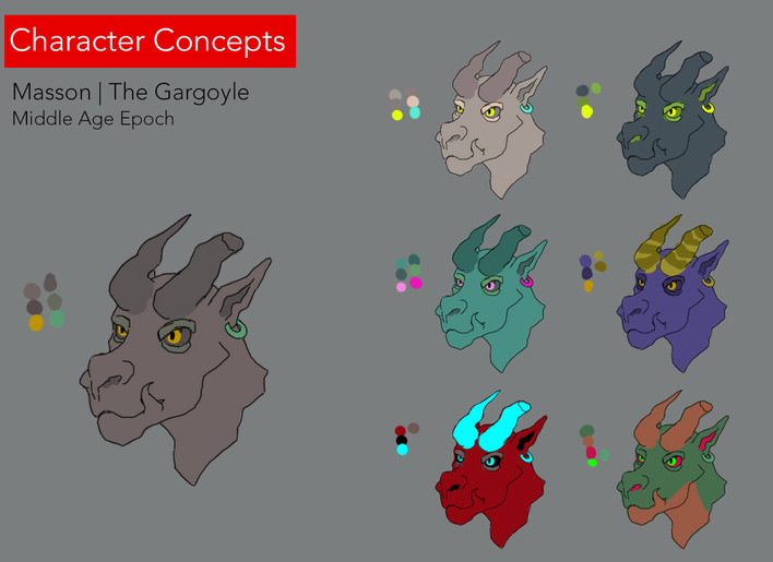 07 Gargoyle Styles