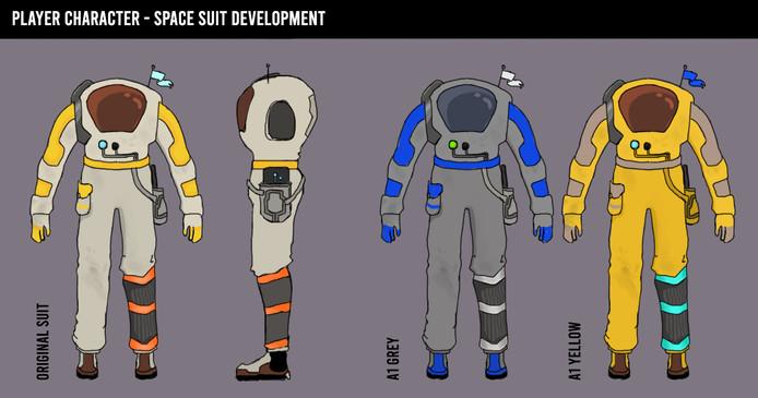 Space Suit A