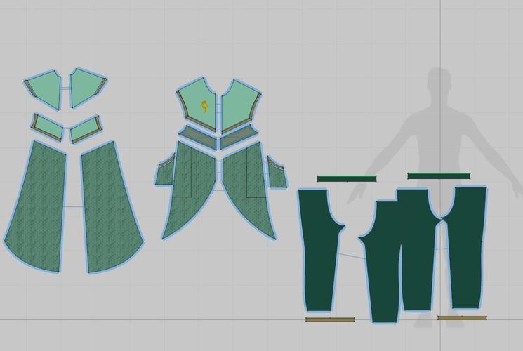 Komorebi 2D Patternmaking