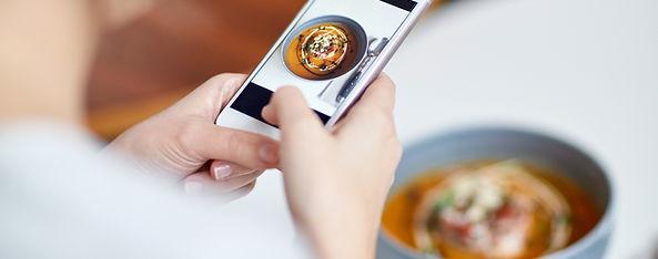 Фотографирование Пищи