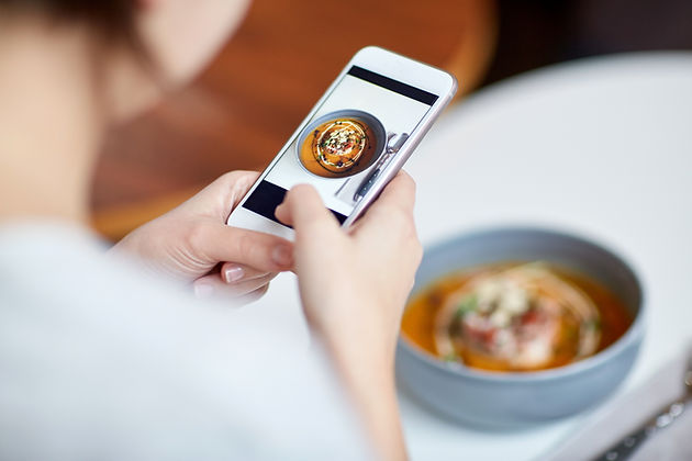 Taking Picture of Food