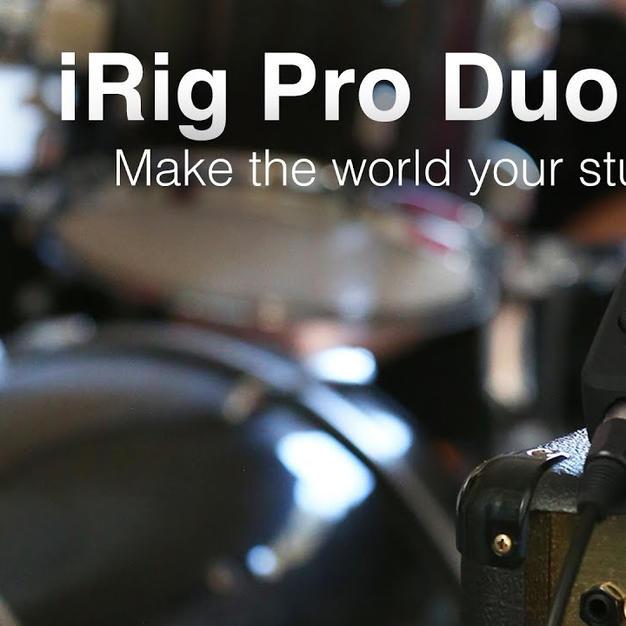 iRig Pro Duo I/O Video