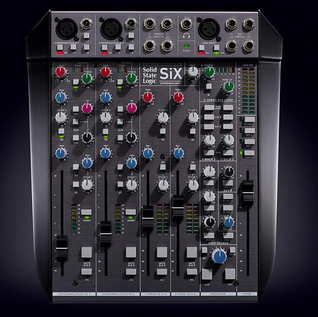 SSL SiX Mixer