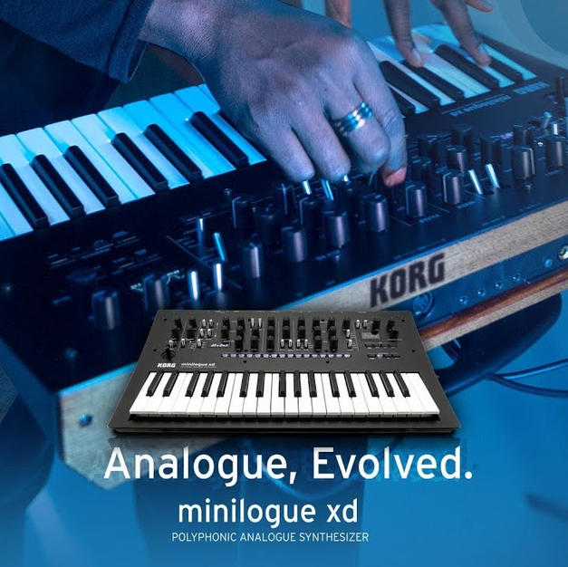 minilogue xd and module