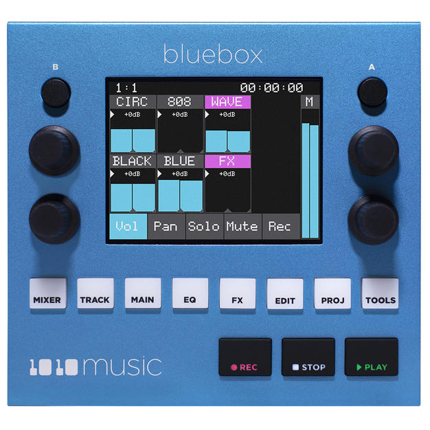 Bluebox – Compact Digital Mixer/Recorder