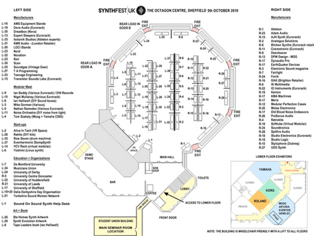 2019 Exhibitor Floor Plan