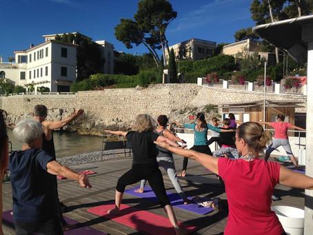 Yoga au Bestouan à Cassis