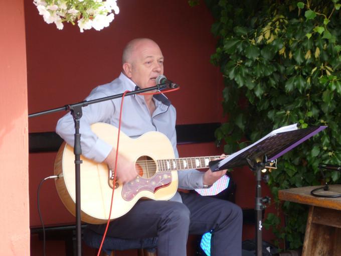 Performing at Kesgrave festival