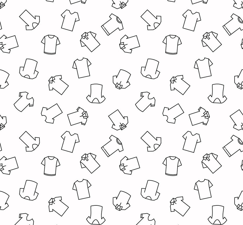t-shirt-seamless-pattern-in-outline-styl
