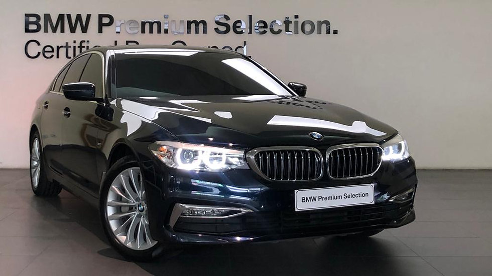BMW 530i Luxury - Imperial Blue