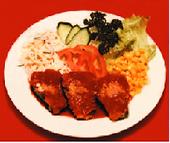 ピーマン肉詰め(ランチ)