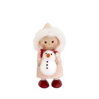 【NEW】星に願いを 雪だるまを持った女の子