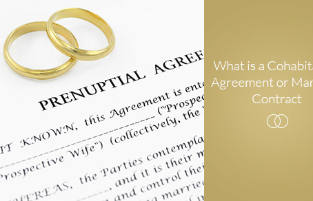 What is a Cohabitation Agreement or Marriage Contract?