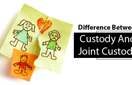 What Is The Difference Between Custody And Joint Custody?