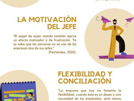 Motivación y satisfacción laboral (Infografía)
