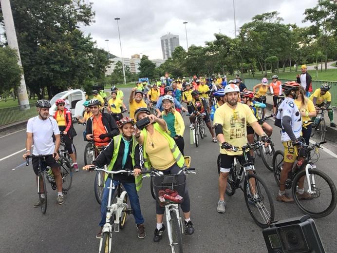Pedal da Paz: no trânsito, trate o outro como gostaria de ser tratado