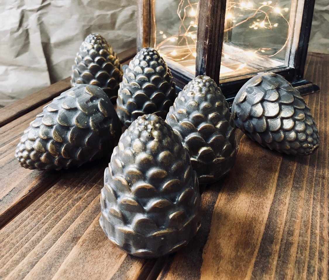 Beer Soap Pinecones