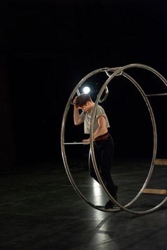 roue allemande german wheel cirque