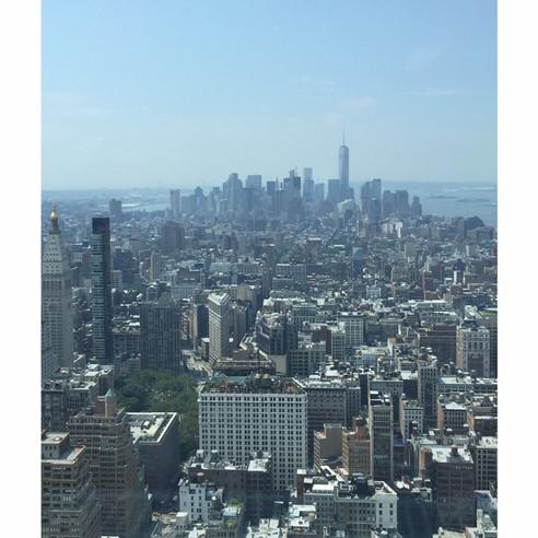 Estudando no Empire State Building